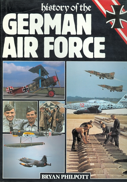 Image for HISTORY OF THE GERMAN AIR FORCE.