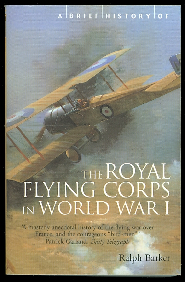 Image for A BRIEF HISTORY OF THE ROYAL FLYING CORPS IN WORLD WAR I.