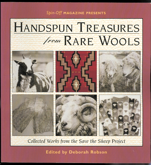 Image for HANDSPUN TREASURES FROM RARE WOOLS.  COLLECTED WORKS FROM THE SAVE THE SHEEP PROJECT.
