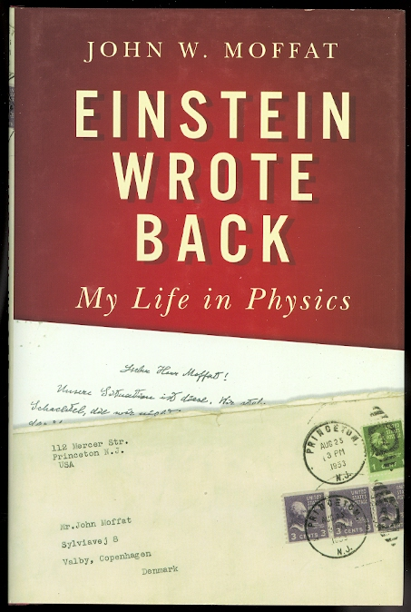 Image for EINSTEIN WROTE BACK: MY LIFE IN PHYSICS.