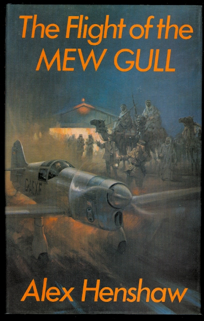 Image for THE FLIGHT OF THE MEW GULL.