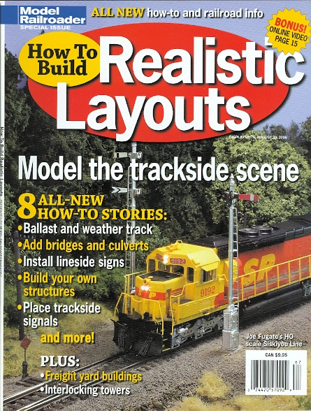 Image for HOW TO BUILD REALISTIC LAYOUTS.  (MODEL RAILROADER SPECIAL ISSUE)