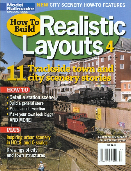 Image for HOW TO BUILD REALISTIC LAYOUTS 4.  (MODEL RAILROADER SPECIAL ISSUE.)