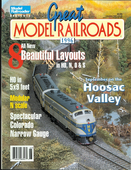 Image for GREAT MODEL RAILROADS 1996.  (MODEL RAILROADER.)