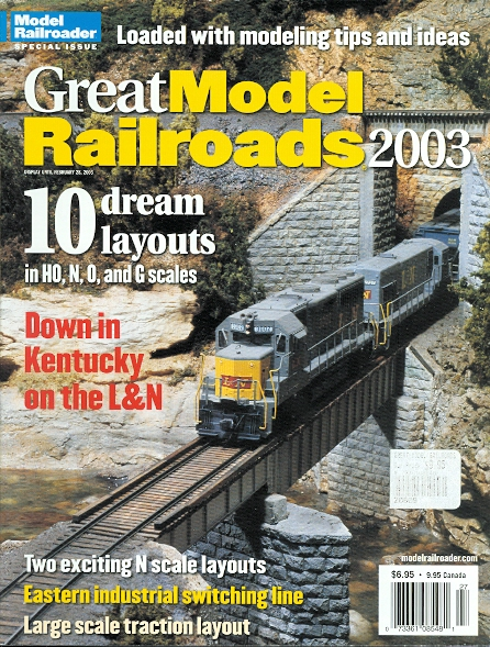 Image for GREAT MODEL RAILROADS 2003.  (MODEL RAILROADER SPECIAL ISSUE.)