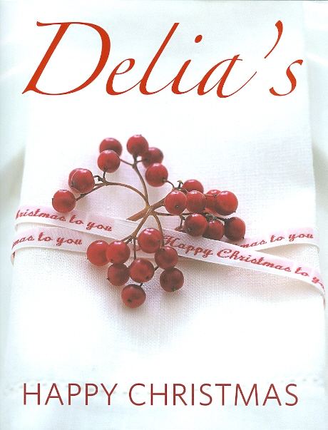Image for DELIA'S HAPPY CHRISTMAS.
