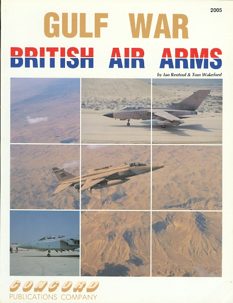 Image for GULF WAR: BRITISH AIR ARMS.