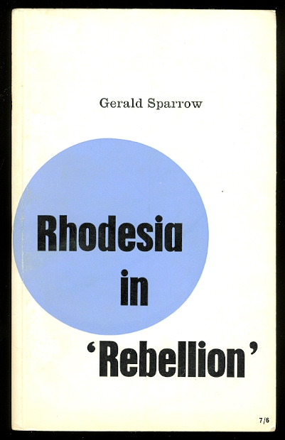Image for RHODESIA IN 'REBELLION'.