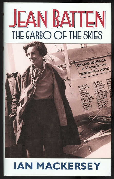 Image for JEAN BATTEN: THE GARBO OF THE SKIES.