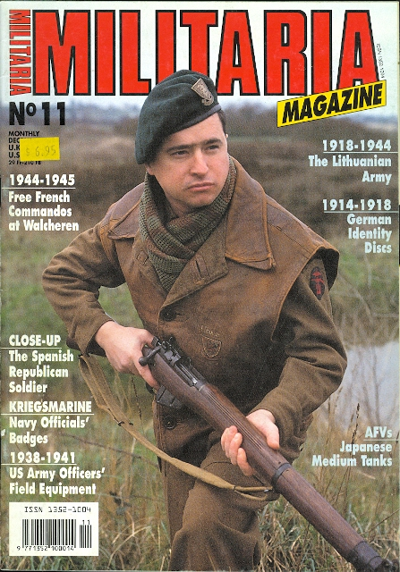Image for MILITARIA MAGAZINE.  NO.11.  DECEMBER 1994.  (ENGLISH EDITION.)