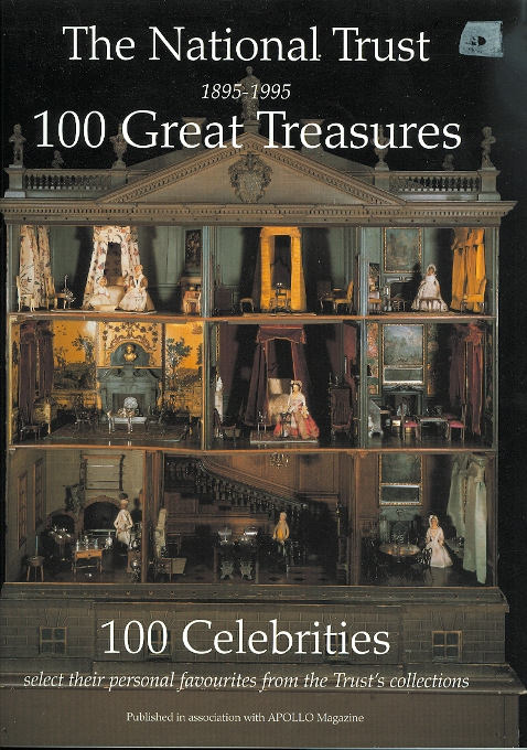 Image for THE NATIONAL TRUST 1895-1995 100 GREAT TREASURES: 100 CELEBRITIES SELECT THEIR PERSONAL FAVOURITES FROM THE TRUST'S COLLECTION