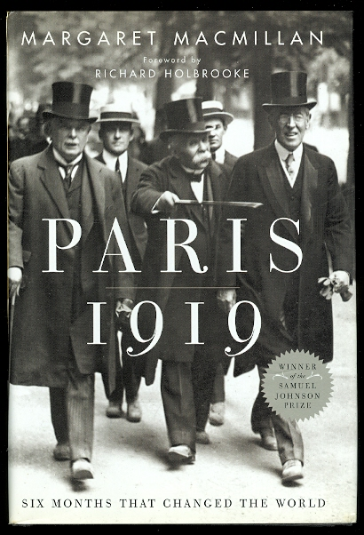 Image for PARIS 1919: SIX MONTHS THAT CHANGED THE WORLD.