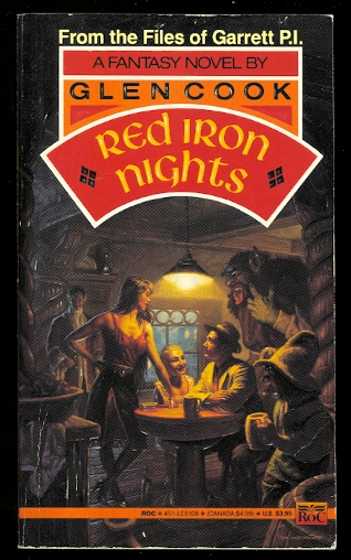 Image for RED IRON NIGHTS.  GARRETT P.I. SERIES.