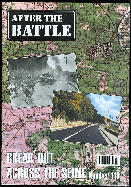 Image for AFTER THE BATTLE.  NUMBER 119: BREAK-OUT ACROSS THE SEINE.