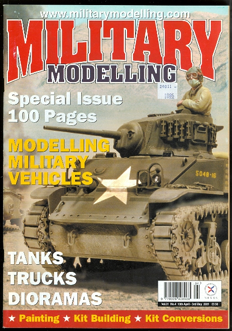 Image for MILITARY MODELLING.  SPECIAL ISSUE: MODELLING MILITARY VEHICLES.  VOL. 31 NO. 4 13th APRIL - 3rd MAY 2001.