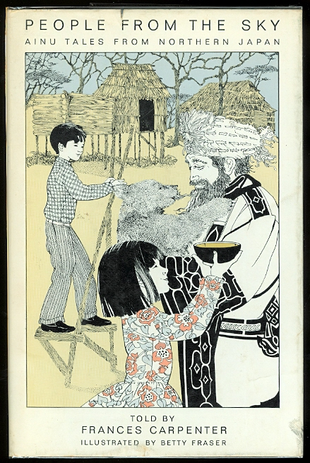 Image for PEOPLE FROM THE SKY:  AINU TALES FROM NORTHERN JAPAN.