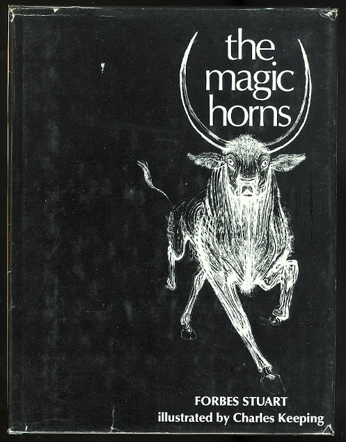 Image for THE MAGIC HORNS:  FOLK TALES FROM AFRICA.