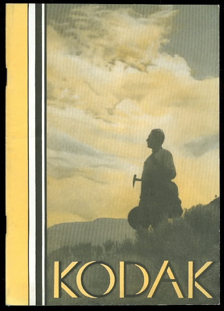 Image for KODAKS AND KODAK SUPPLIES.  1932-1933.