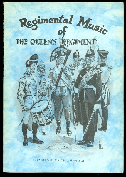 Image for REGIMENTAL MUSIC OF THE QUEEN'S REGIMENT.
