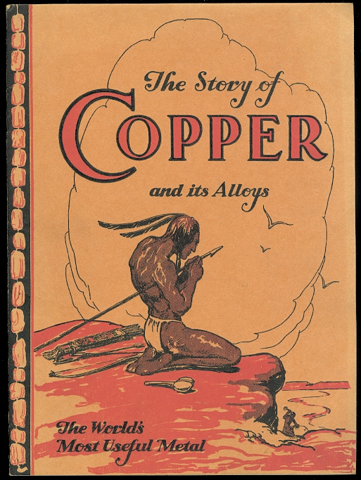 Image for THE STORY OF COPPER AND ITS ALLOYS.