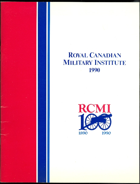 Image for ROYAL CANADIAN MILITARY INSTITUTE YEAR BOOK 1990.