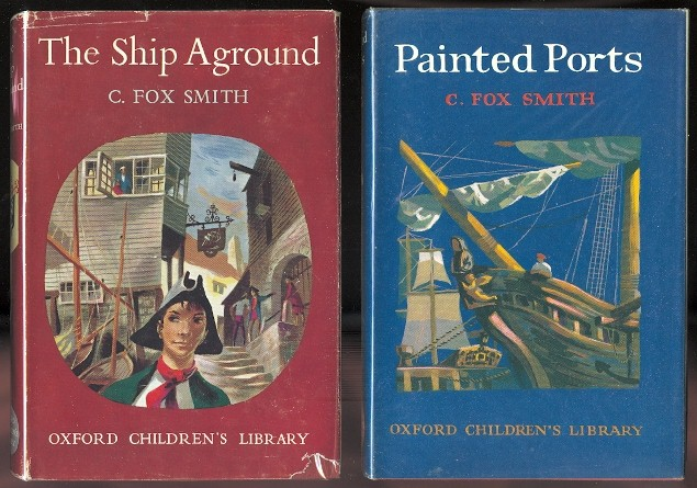 Image for THE SHIP AGROUND: A TALE OF ADVENTURE & PAINTED PORTS.  OXFORD CHILDREN'S LIBRARY NO.s 3 & 35. (TWO VOLUMES)