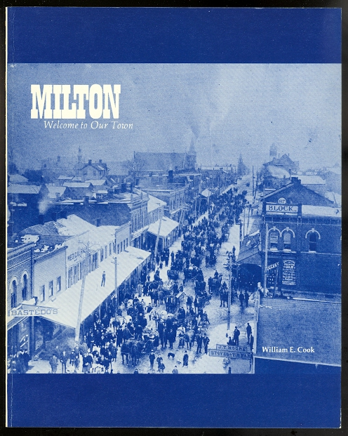Image for MILTON: WELCOME TO OUR TOWN.