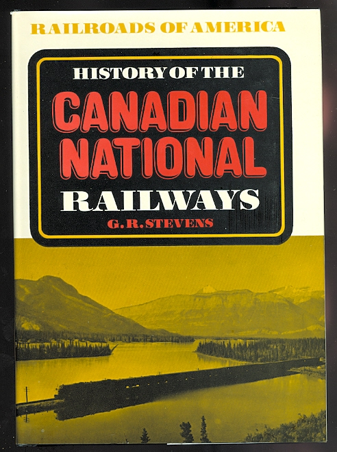 Image for HISTORY OF THE CANADIAN NATIONAL RAILWAYS.