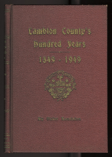 Image for LAMBTON'S HUNDRED YEARS, 1849-1949.