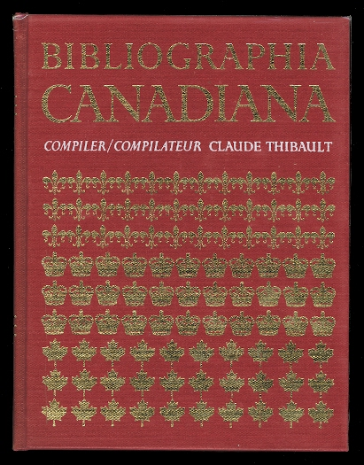 Image for BIBLIOGRAPHIA CANADIANA.