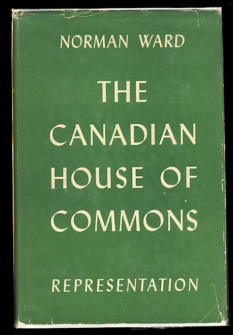 Image for THE CANADIAN HOUSE OF COMMONS:  REPRESENTATION.