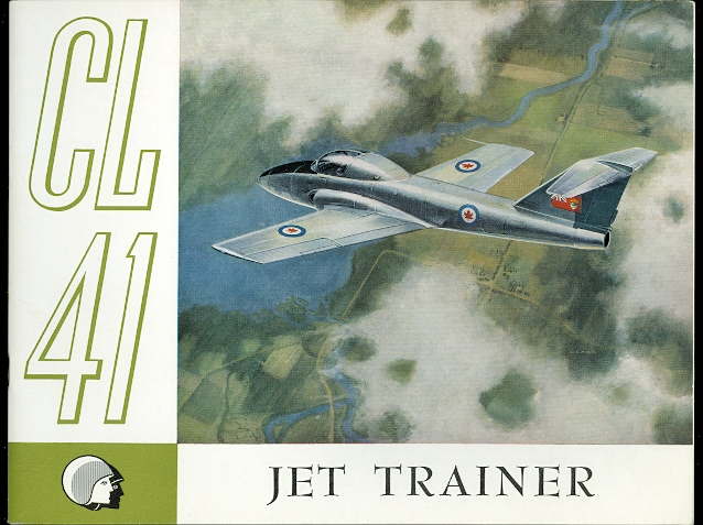 Image for CL-41 JET TRAINER.  MILITARY AIRCRAFT SALES DIVISION, PUBLICATION NO. 116, OCTOBER 1959.
