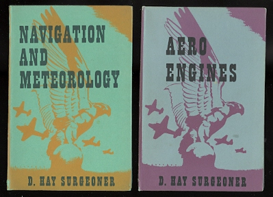 "Image for FIRST PRINCIPLES OF FLIGHT / AIRCRAFT CONSTRUCTION / NAVIGATION AND METEOROLOGY / AERO-ENGINES / RADIO FOR AEROPLANES.  5 VOLUMES FROM THE ""AIR TRAINING SERIES""."