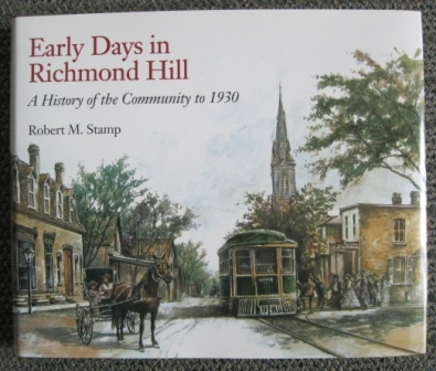 Image for EARLY DAYS IN RICHMOND HILL:  A HISTORY OF THE COMMUNITY TO 1930.