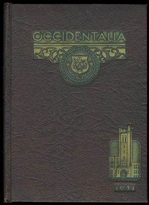 Image for THE OCCIDENTALIA 1931.