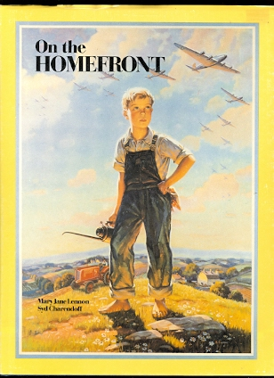 Image for ON THE HOMEFRONT:  A SCRAPBOOK OF CANADIAN WORLD WAR II MEMORABILIA.