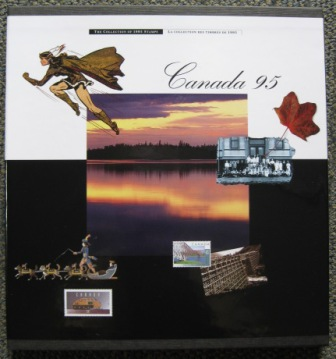 Image for CANADA 95.  THE COLLECTION OF 1995 STAMPS.
