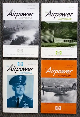 Image for THE AIRPOWER HISTORIAN.  VOLUME IX.  NUMBERS 1-4.  (JANUARY, APRIL, JULY, OCTOBER 1962).