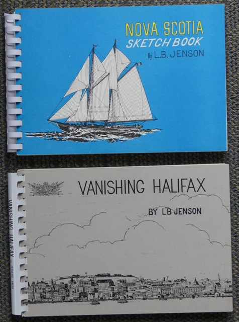 Image for NOVA SCOTIA SKETCH BOOK & VANISHING HALIFAX.  2 VOLUMES.