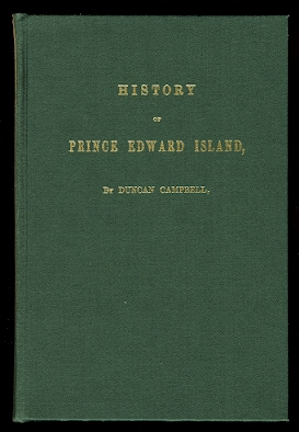 Image for HISTORY OF PRINCE EDWARD ISLAND.