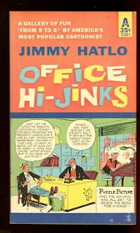 Image for OFFICE HI-JINKS.  A GALLERY OF FUN 'FROM 9 TO 5' BY AMERICA'S MOST POPULAR CARTOONIST.