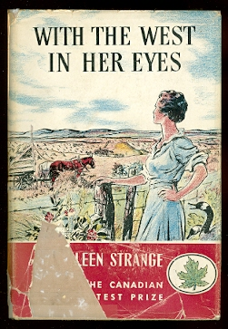 Image for WITH THE WEST IN HER EYES:  THE STORY OF A MODERN PIONEER.