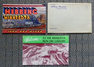 Image for [TWO MINNESOTA MINING RELATED ITEMS].  1. HIBBING MINNESOTA AND THE IRON ORE MINES.  2. WELCOME - TO THE MINNESOTA IRON ORE COUNTRY.