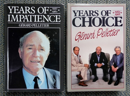 Image for YEARS OF IMPATIENCE, 1950-1960 & YEARS OF CHOICE, 1960-1968.  2 VOLUME SET.