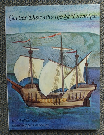 Image for CARTIER DISCOVERS THE ST LAWRENCE.