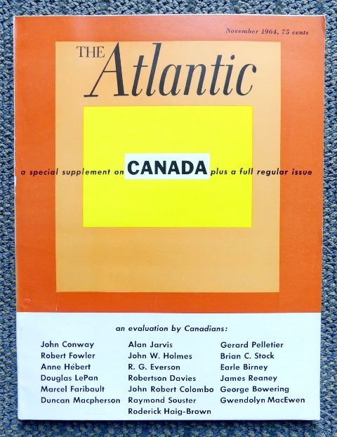 Image for THE ATLANTIC MONTHLY.  VOL. 214, NO. 5.  NOVEMBER 1964.