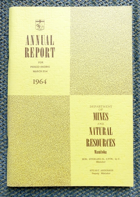 Image for ANNUAL REPORT FOR PERIOD ENDING MARCH 31st 1964.