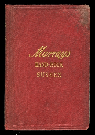 Image for HANDBOOK FOR TRAVELLERS IN SUSSEX.  (MURRAY'S HAND-BOOK SUSSEX.)