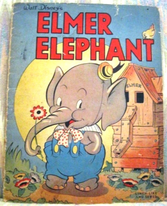 Image for WALT DISNEY'S ELMER ELEPHANT.  948