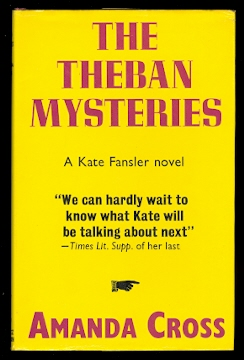 Image for THE THEBAN MYSTERIES.